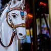 メリーゴーランドの馬