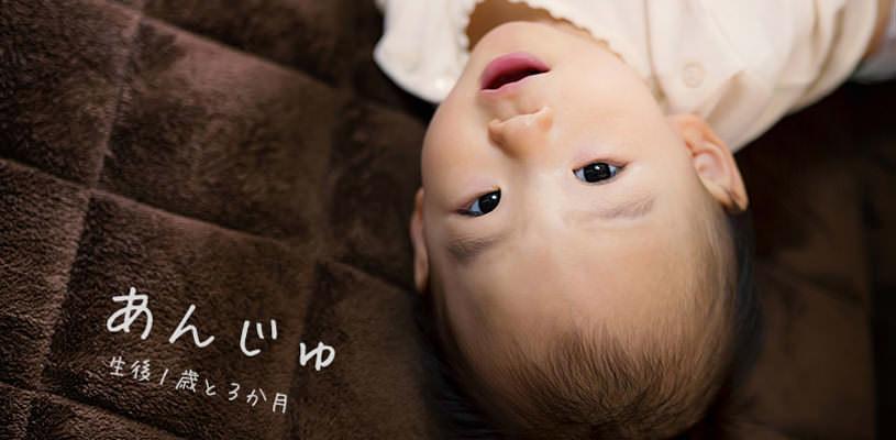 生後1歳の女の子(あんじゅ)