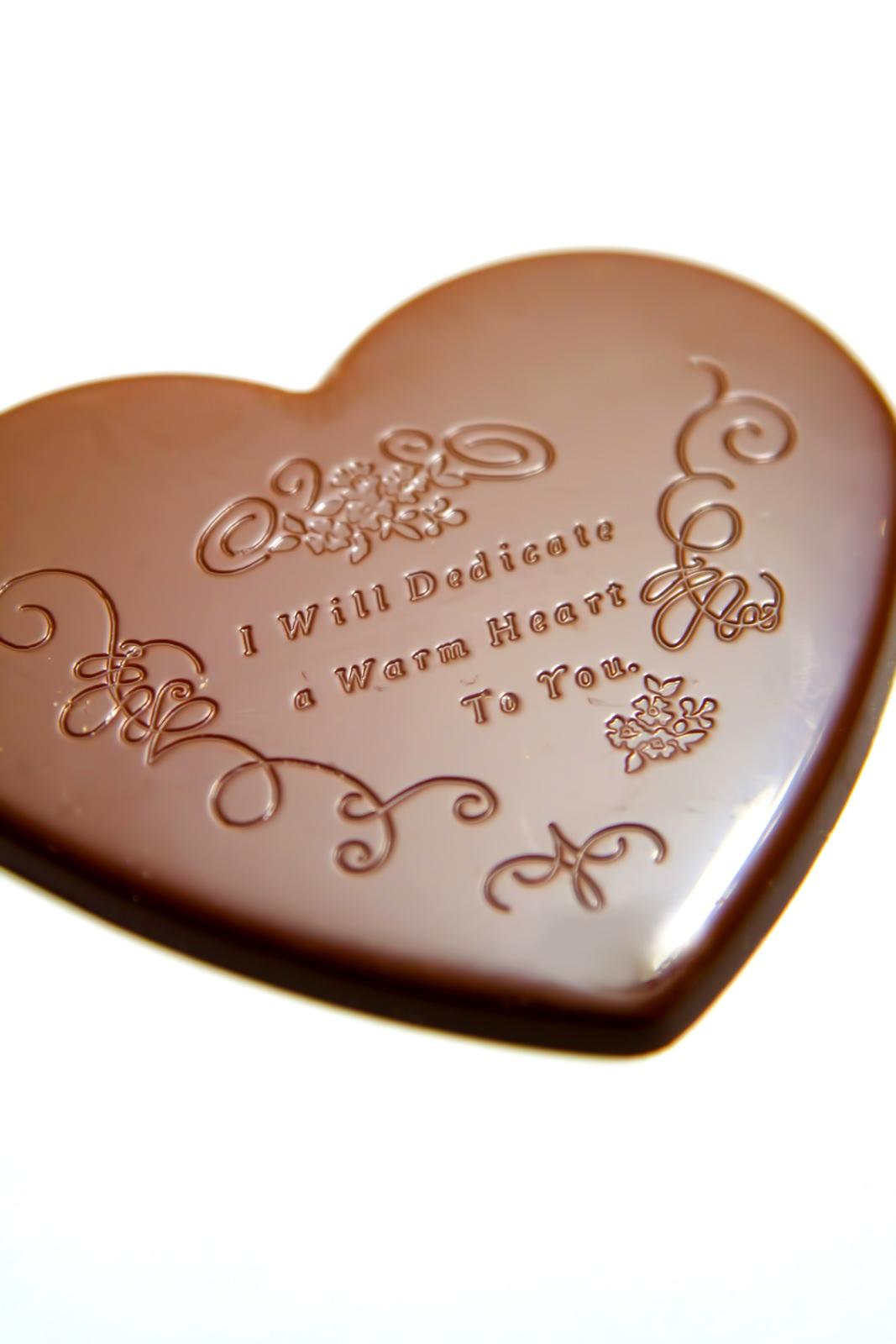 バレンタイン用ハートのチョコレートバレンタイン用ハートのチョコレート