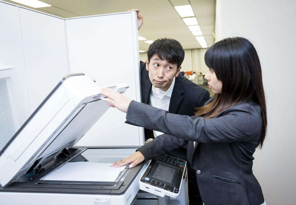 コピー機の処分方法と処分に関する注意について
