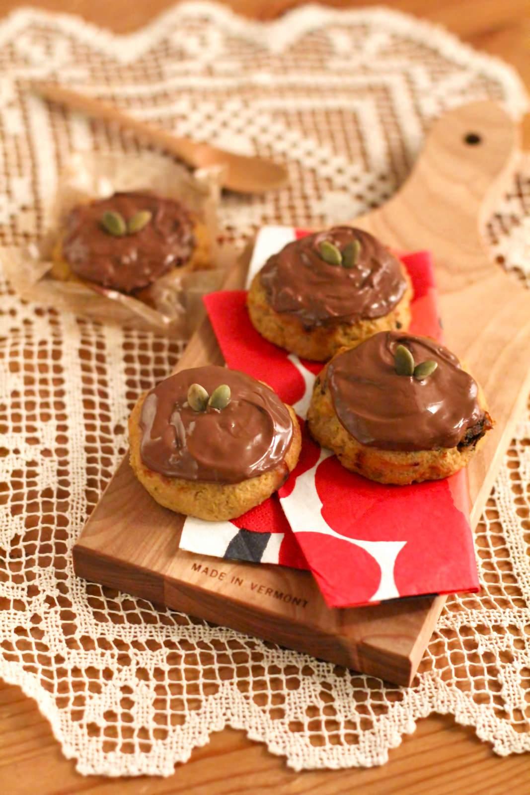 チョコかけクッキーチョコかけクッキー