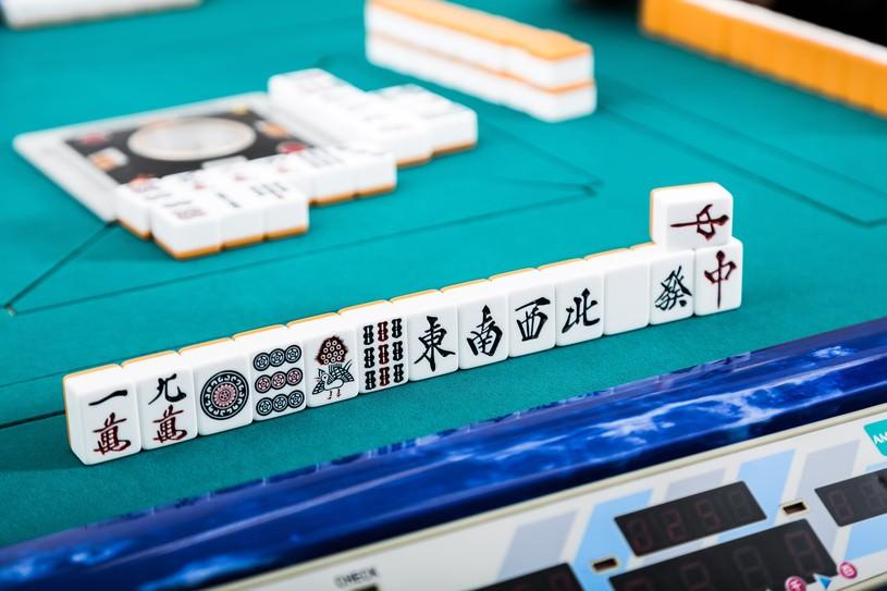 漢字がかっこいい麻雀牌。