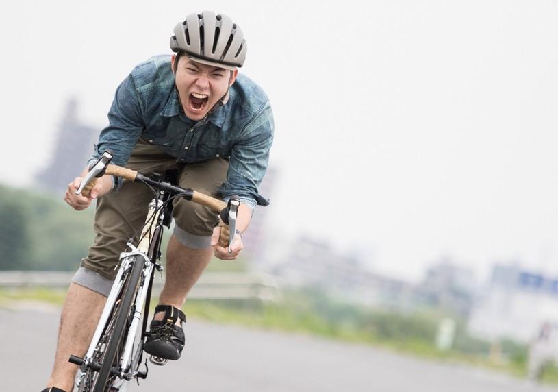 最速派手を目指す自転車男子