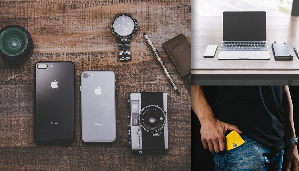 美しいiPhoneとガジェットのフリー素材集