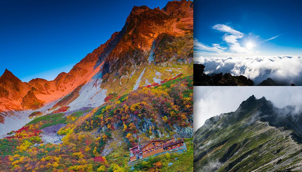 神々しいほど美しい! いつまでも眺めていたい山岳フリー素材集(北アルプス編)