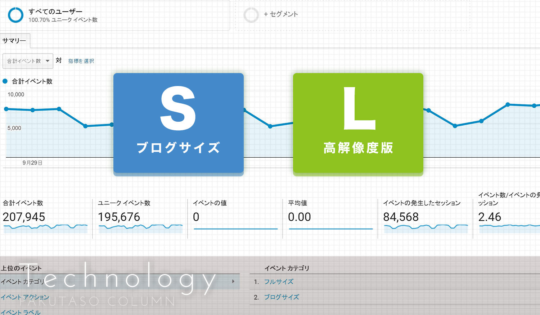 Google Analyticsを使って写真素材のダウンロード数を計測する