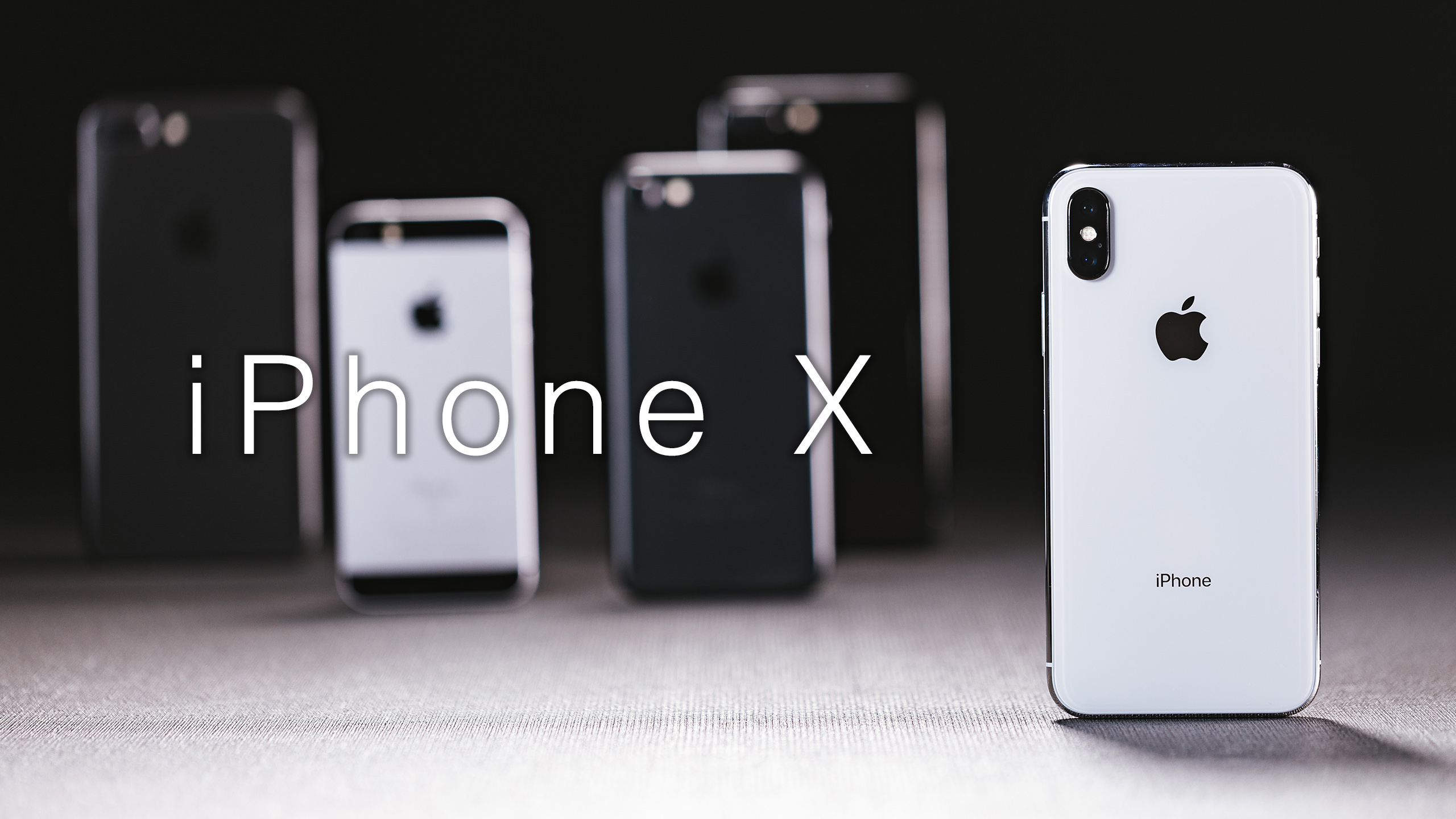 iPhone X 発売! Apple直営店に並ぶ行列の様子やレビュー用商品写真を公開