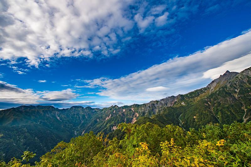 山のフリー写真素材