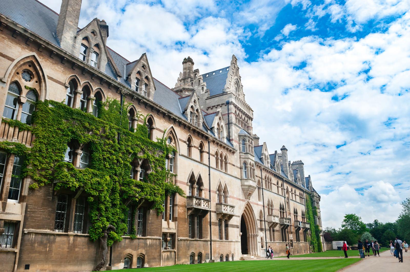 「オックスフォード・クライストチャーチの建造物」の写真