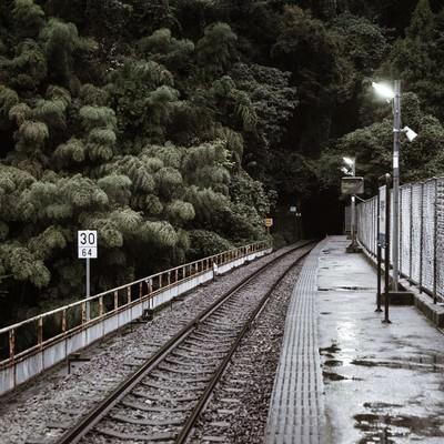 三江線・宇都井駅(廃線)の写真