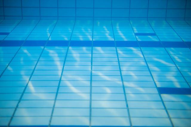水中撮影(プールの中)の写真