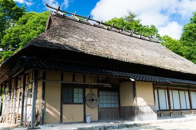 古民家(うたかたの館:鏡野町)の写真