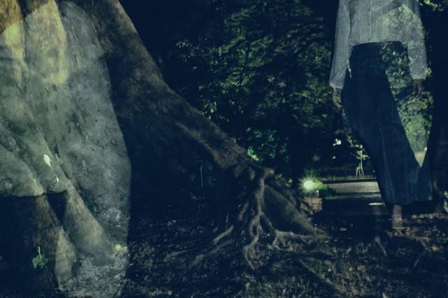 【恐怖】女性の残像が写るの写真