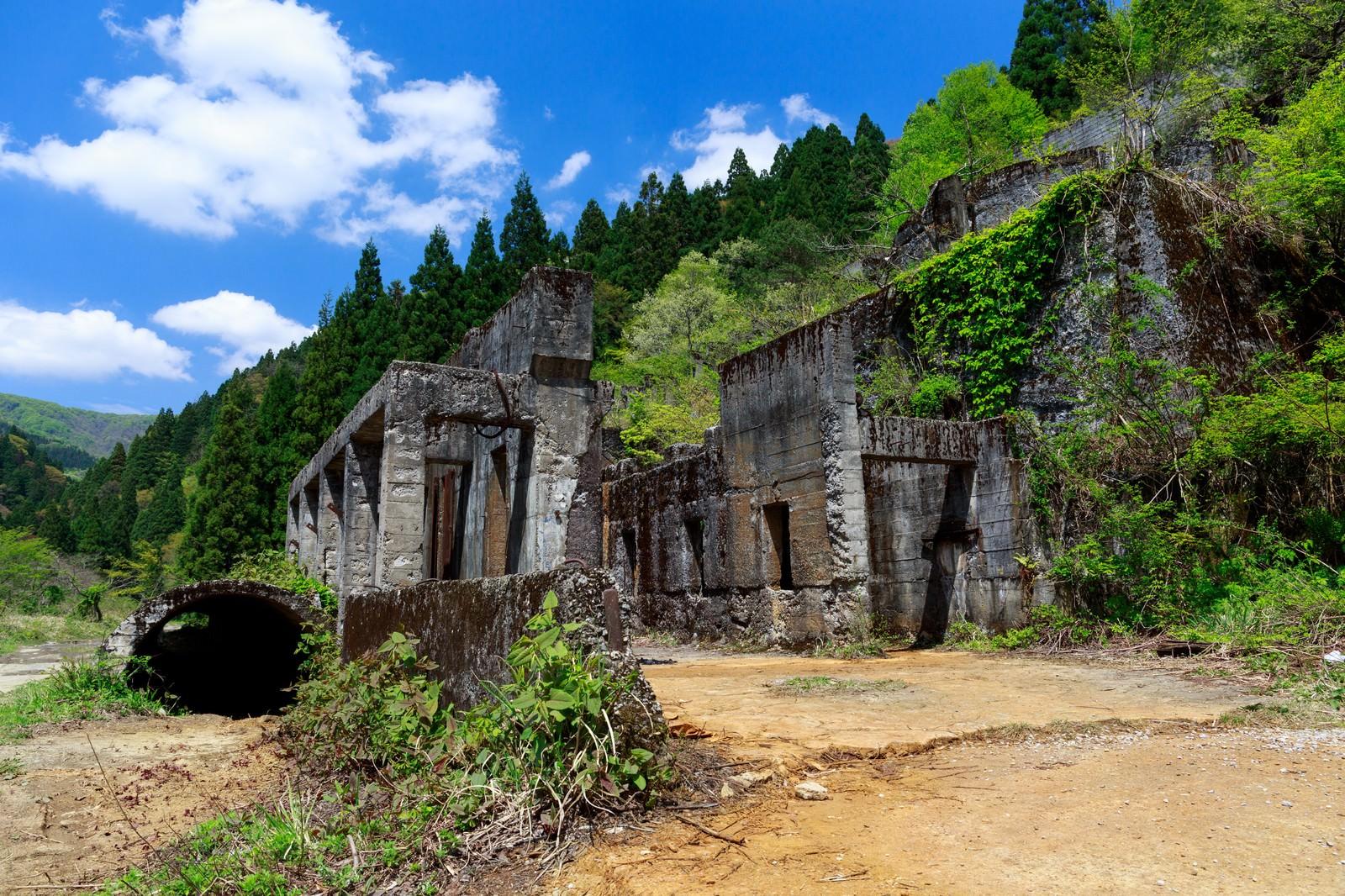 「史跡-土倉鉱山跡(滋賀県)」の写真