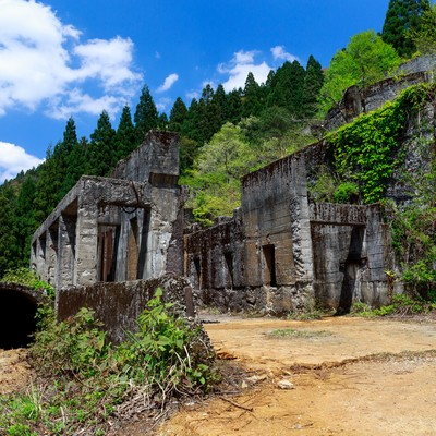 史跡-土倉鉱山跡(滋賀県)の写真