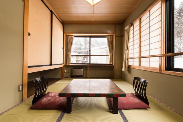平湯温泉栄太郎の客室(和室)の写真