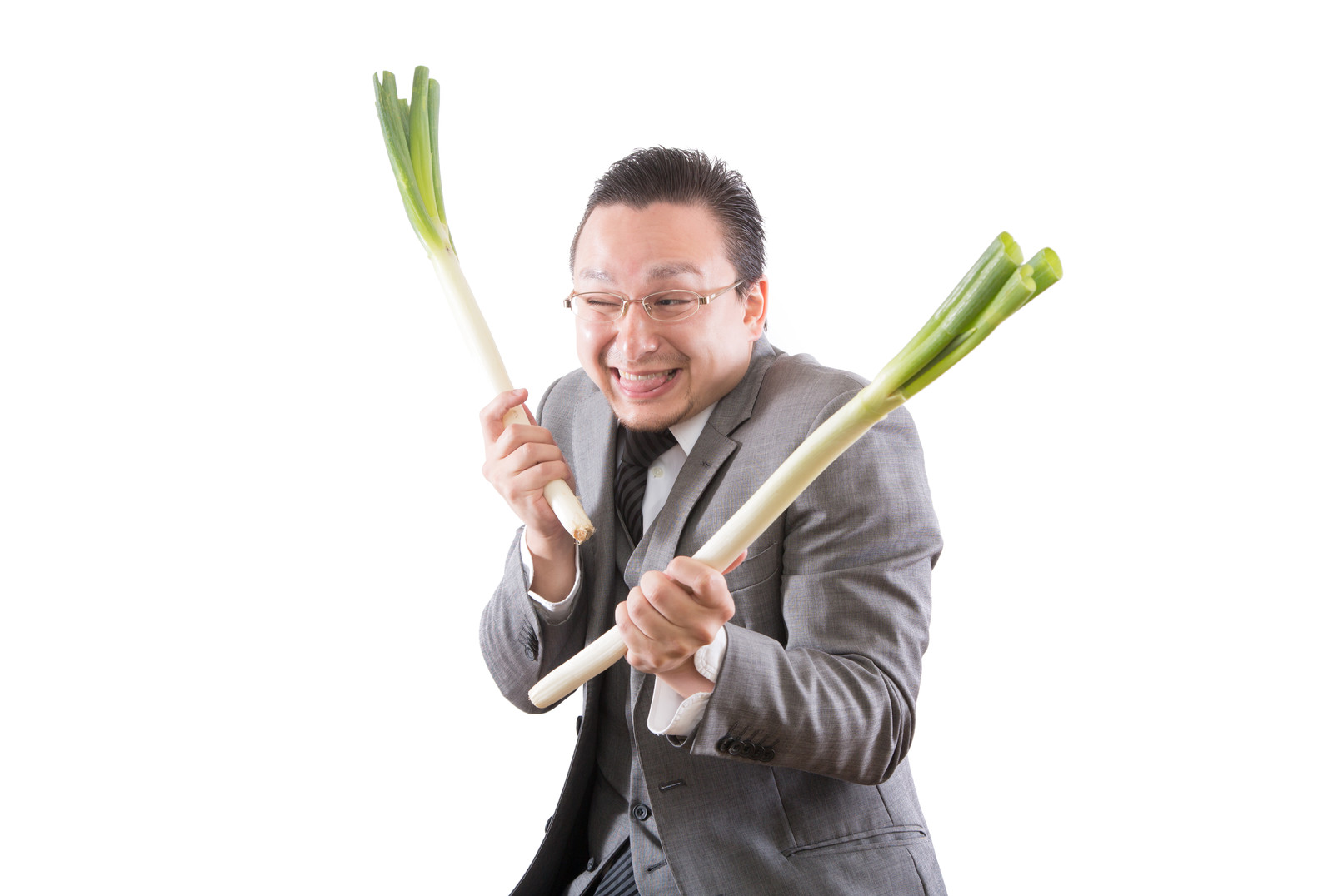 「いかにもカモられやすいドイツ人ハーフが葱持ってきた」の写真[モデル:Max_Ezaki]
