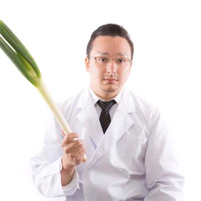 風邪予防には葱でしょの写真