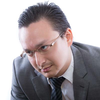 「燃え尽き症候群のビジネスマン」の写真素材
