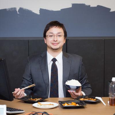 「「日本のコンビニ飯は美味しい!」」の写真素材