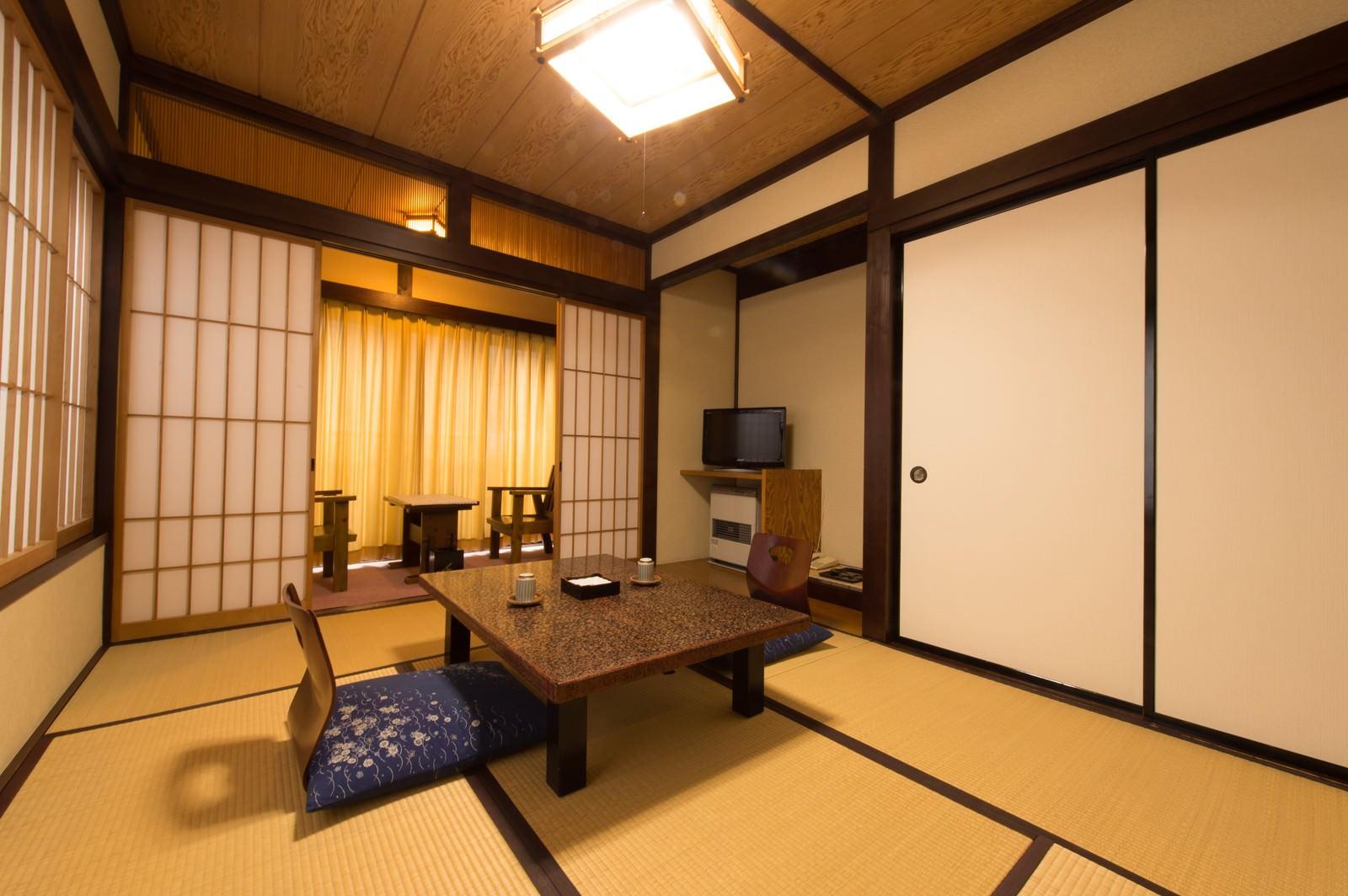 「お宿栄太郎の客室(平湯温泉)」の写真