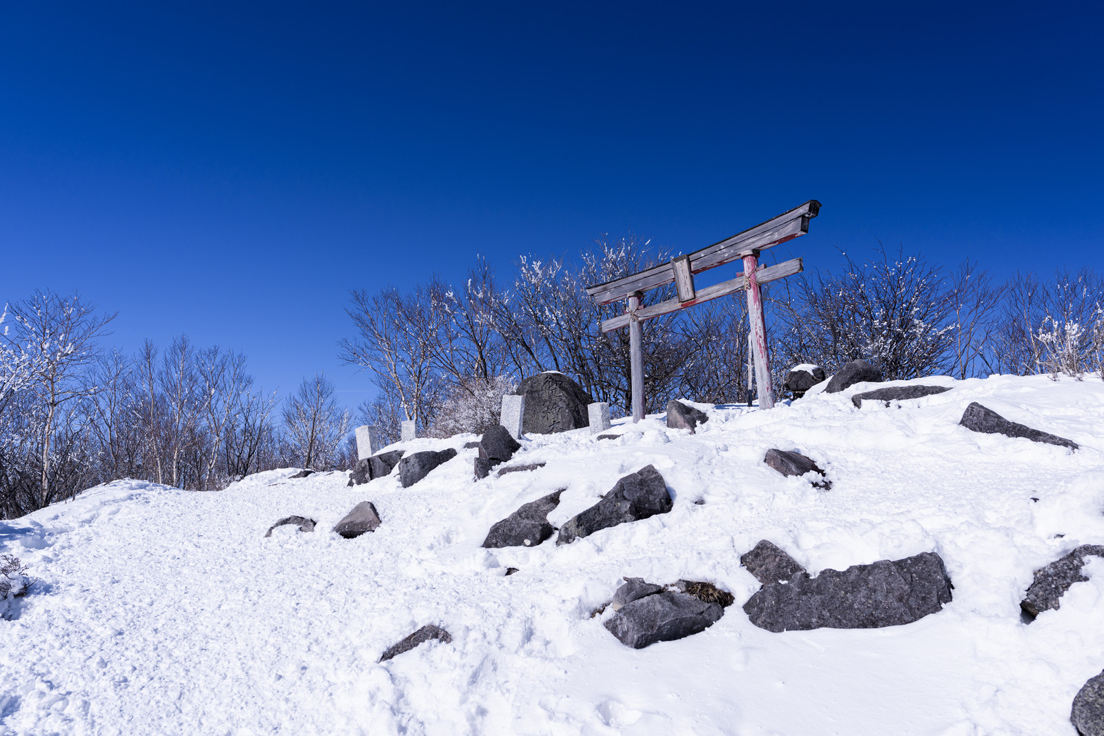 「赤城山山頂神社」の写真