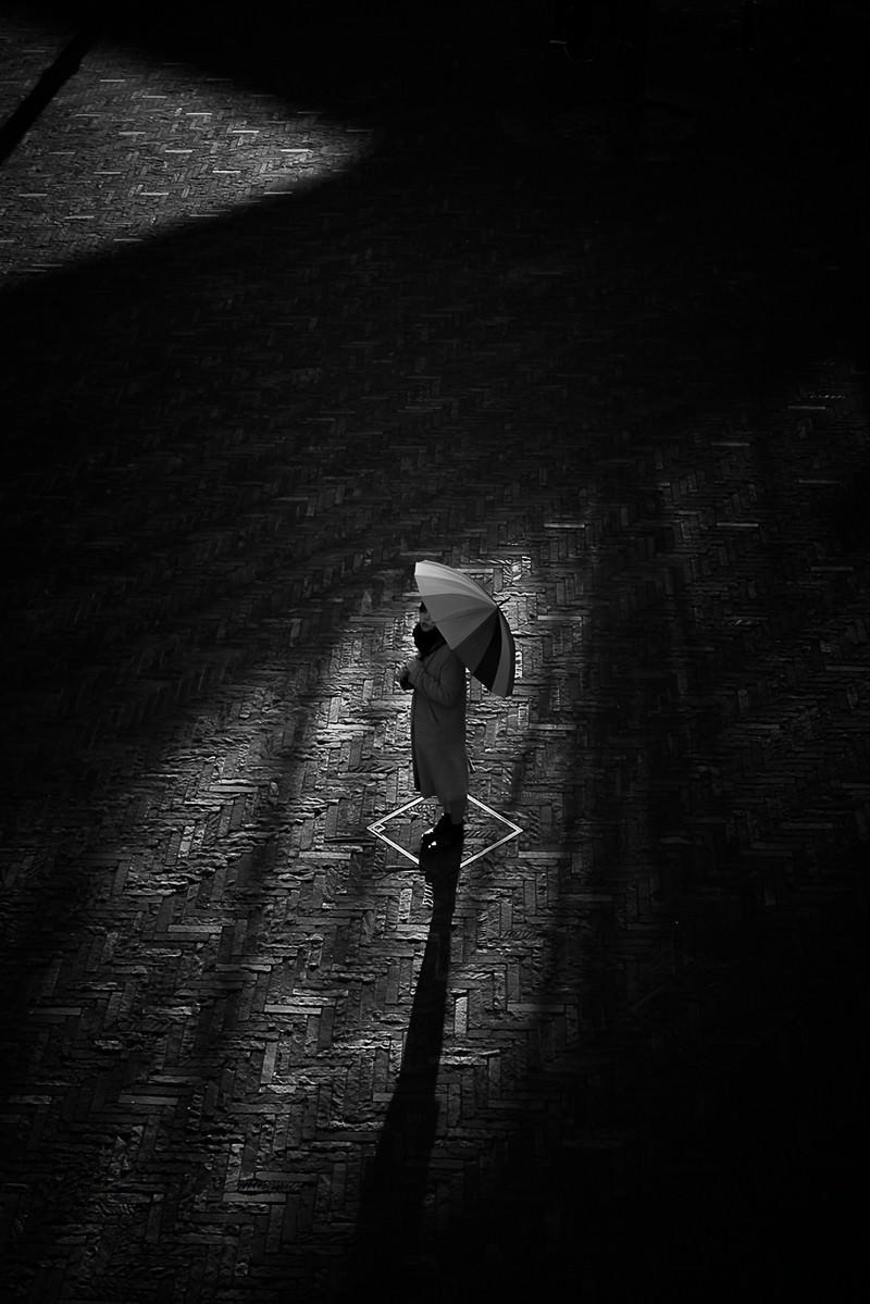 「傘と影のシャドウ」の写真
