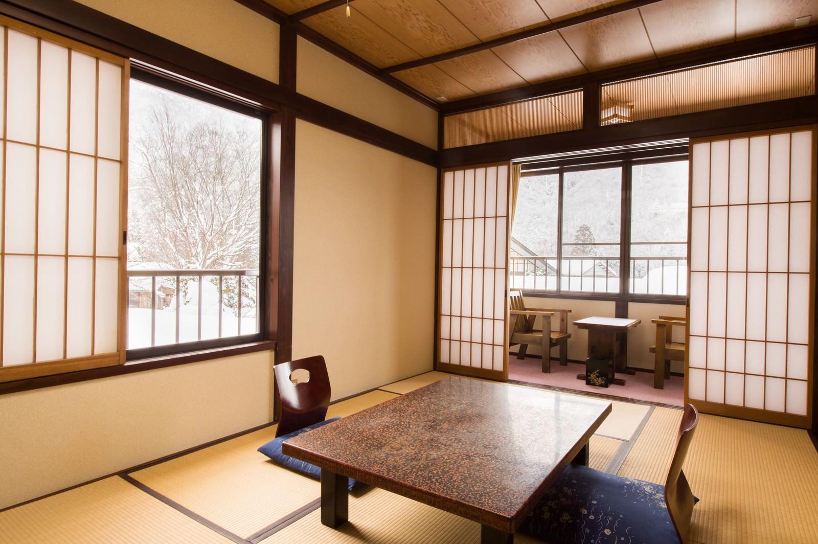 「奥飛騨の旅をゆったりと寛げる宿(栄太郎)奥飛騨の旅をゆったりと寛げる宿(栄太郎)」のフリー写真素材を拡大