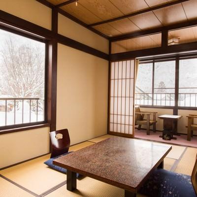 「奥飛騨の旅をゆったりと寛げる宿(栄太郎)」の写真素材