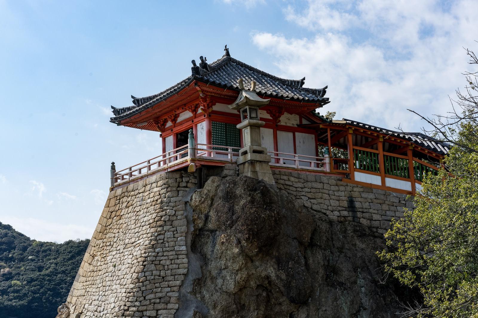 「磐台寺観音堂(阿伏兎観音)」の写真