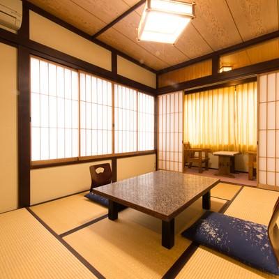 和室の客室(協力:お宿・栄太郎)の写真