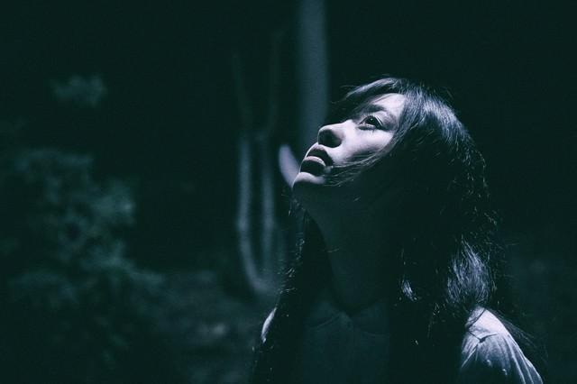 月の明かりが私を照らすの写真