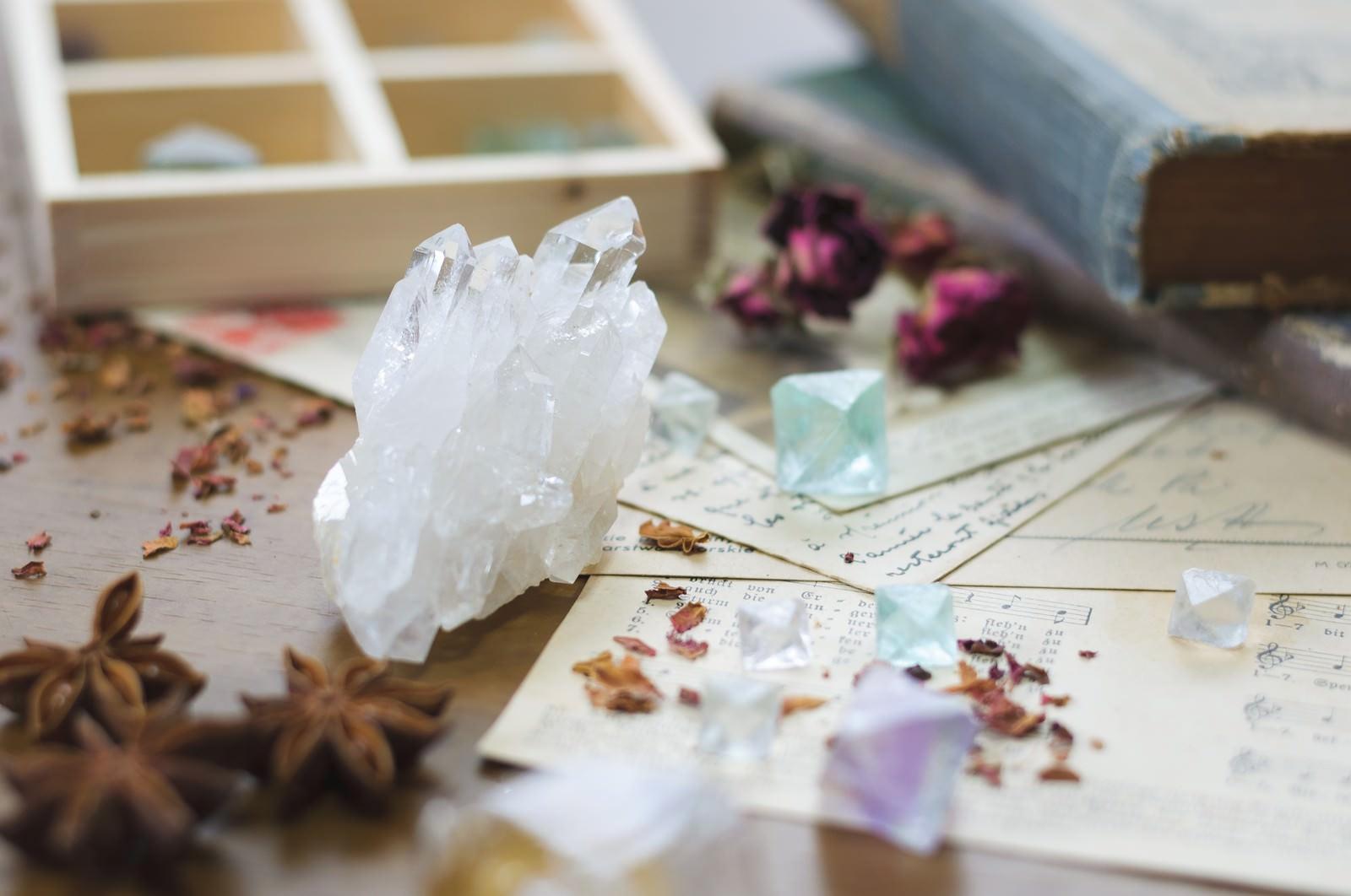 「魔法薬の材料(クリスタル)」の写真