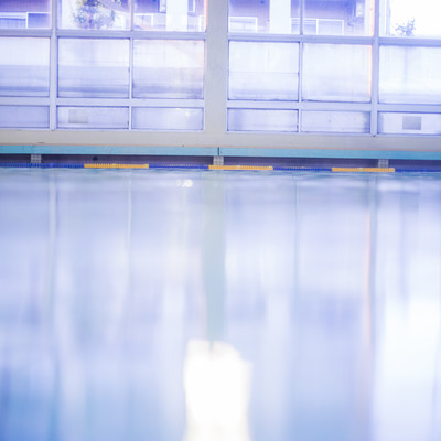 「室内プール」の写真素材