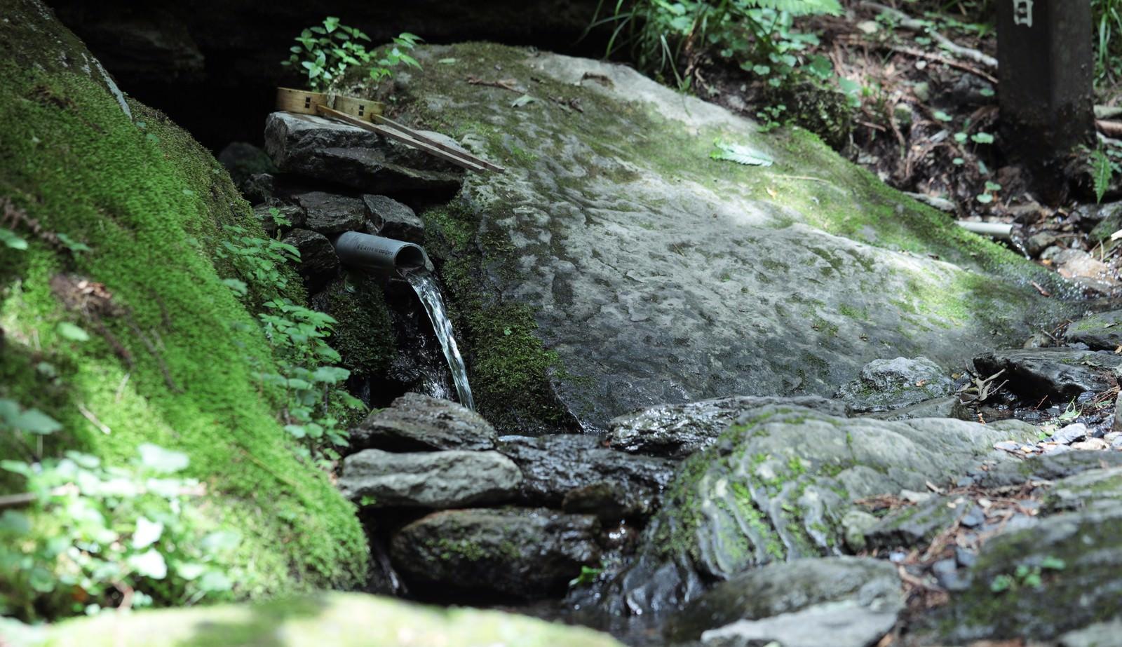 「子宝の名水「岩井」」の写真