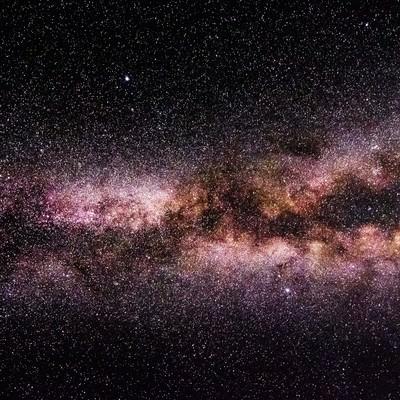 満天の星々を望む(岡山県鏡野町笠菅峠から撮影)の写真
