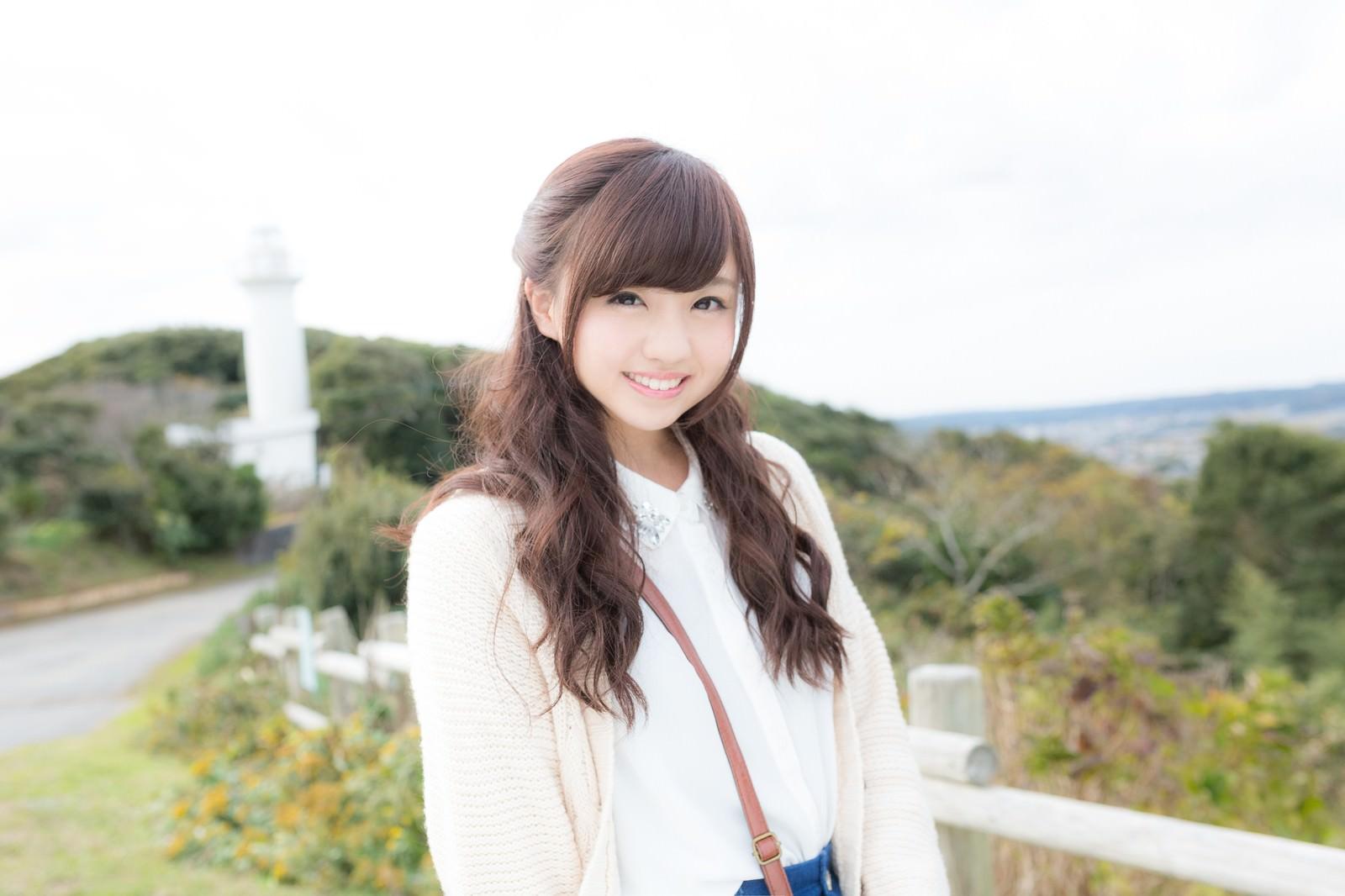 太東崎灯台で彼女とデート