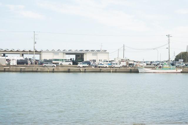 千葉県いすみ市大原漁港の写真