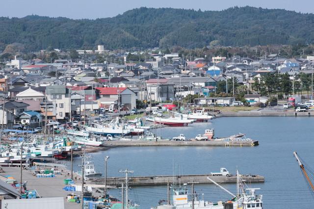 いすみ市大原漁港の写真