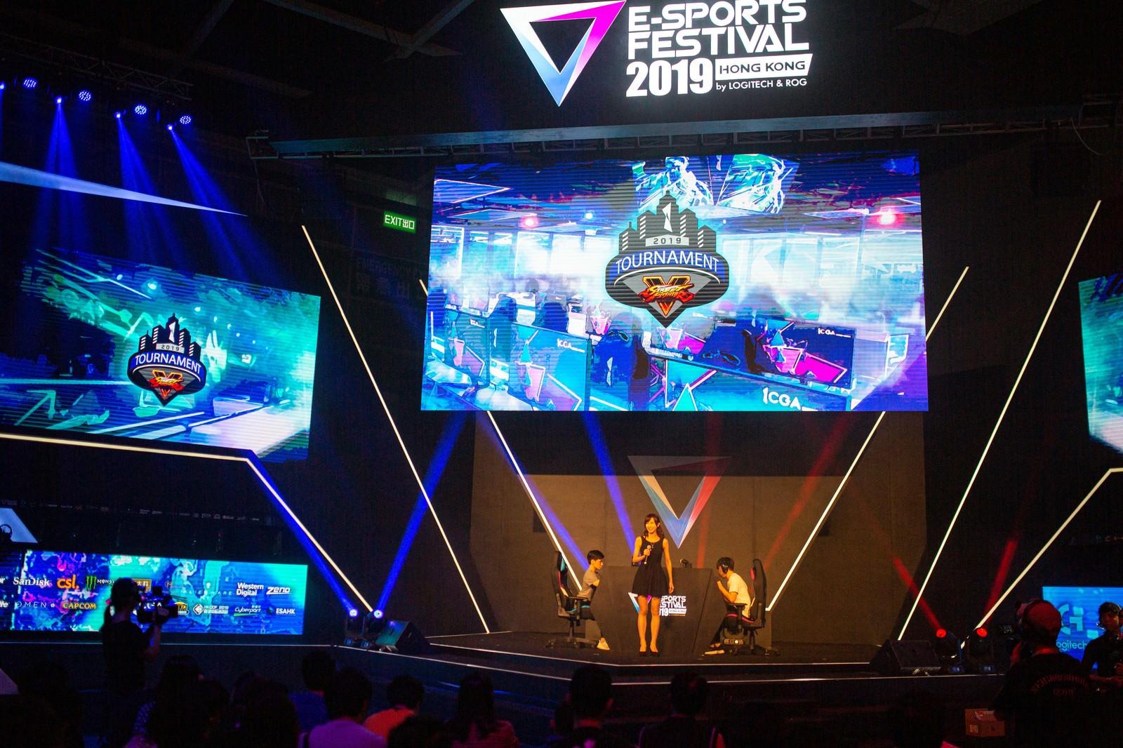 「STREET FIGHTER V 2019 TOURNAMENT by E-SPORTS FESTIVAL 2019 HONG KONG」の写真