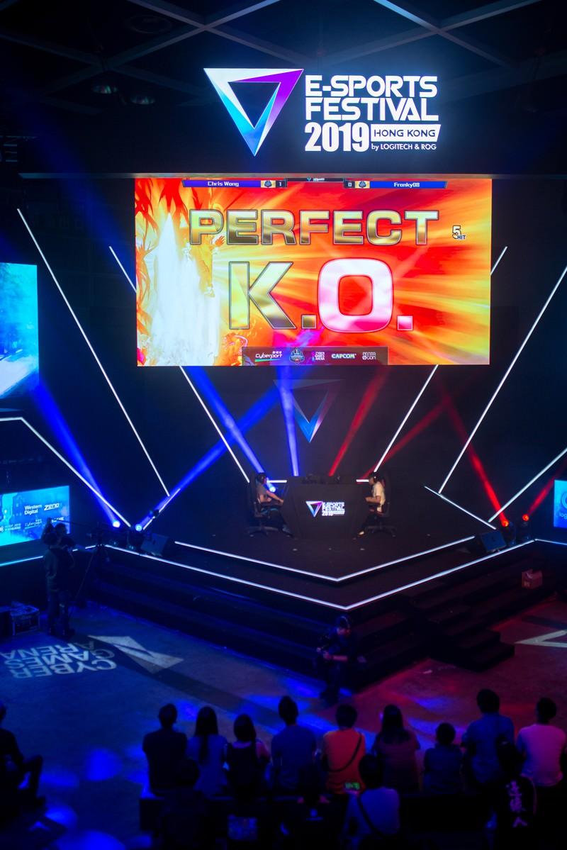「PERFECT K.O.  - E-Sports Festival Hong Kong 2019」の写真