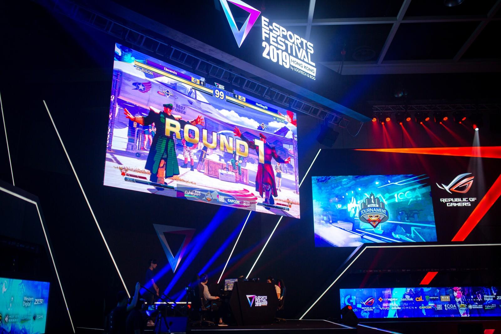 「試合開始ROUND.1 - E-Sports Festival Hong Kong 2019」の写真