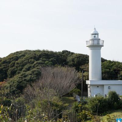 「房総太東崎燈台」の写真素材