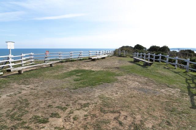 太東崎灯台にある公園の写真