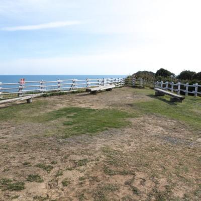 「太東崎灯台にある公園」の写真素材