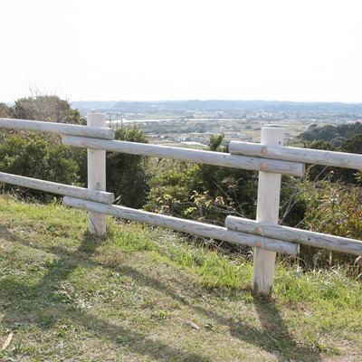 「太東岬から見える風景」の写真素材