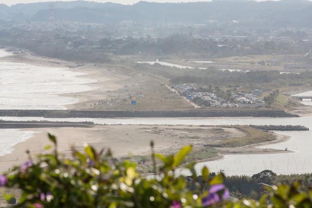 太東崎灯台からの眺望の写真