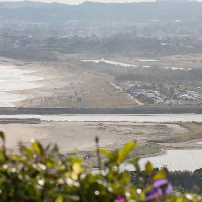 「太東崎灯台からの眺望」の写真素材