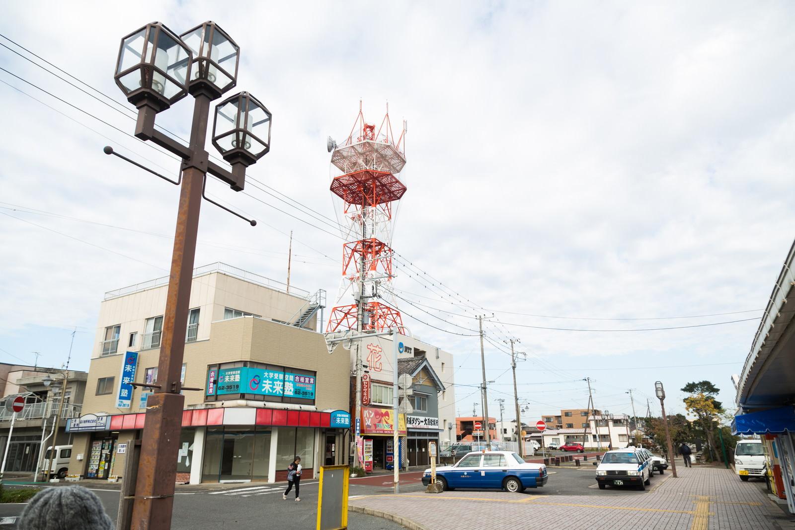 「千葉県いすみ市大原駅前」の写真
