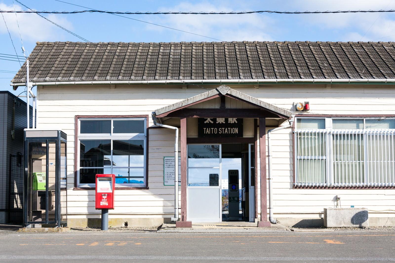 「千葉県いすみ市太東駅(JR外房線)」の写真
